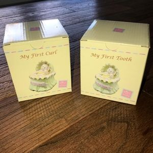 My First Tooth & Curl Keeper for Baby